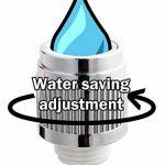 """1/2 """"bsp corps tournant douche réglable 23-0 l / min réduction de mamelon d'écoulement d'eau de la marque plumbing4home image 2 produit"""