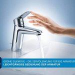 33302002 GROHE Eurosmart Robinet de baignoire avec pommeau de douche, tuyau et fixation murale de la marque GROHE image 2 produit
