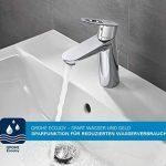 33302002 GROHE Eurosmart Robinet de baignoire avec pommeau de douche, tuyau et fixation murale de la marque GROHE image 3 produit