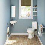 Armoire d'angle pour salle de bains avec miroir en acier inoxydable Meuble de rangement moderne MC101 de la marque iBathUK image 2 produit