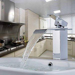 Auralum® Design Robinet mitigeur salles de bain bassin lavabo Chrome Size A de la marque AuraLum image 0 produit