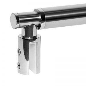 Barre de stabilisation téléscopique pour paroi de douche 6-8 mm, béquille de renfort extensible, barre de fixation universelle, barre de maintien ajustable Schulte de la marque Schulte image 0 produit