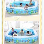 Bathtub PHTW HTZ Piscine Gonflable pour Enfants Famille Grande Piscine Balle océan + (Taille : 152CM*108CM*51CM) de la marque Bathtub PHTW image 1 produit