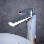 Beelee BL6780H 30.5cm Mitigeur de Lavabo Design à Bec Haut Status XL Chrome de la marque Beelee image 3 produit