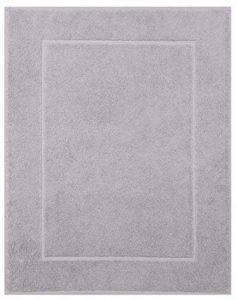 Betz Tapis de bain taille 50x70 cm 100% Coton qualité 650 g/m² Premium couleur gris argenté de la marque BETZ image 0 produit