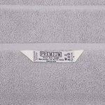 Betz Tapis de bain taille 50x70 cm 100% Coton qualité 650 g/m² Premium couleur gris argenté de la marque BETZ image 2 produit