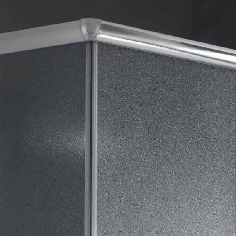 paroi de douche non transparente comment choisir les. Black Bedroom Furniture Sets. Home Design Ideas