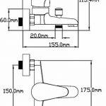 DP Bath Limonero - Robinet Mitigeur de lavabo chromé de la marque DP Bath image 1 produit