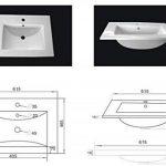 Emotion Ensemble de meubles de bain Fortuna anthracite satiné de la marque Emotion image 4 produit