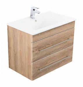 Emotion Meuble salle de bain Casa Infinity 750 décor chêne de la marque Emotion image 0 produit