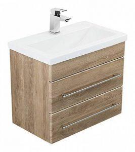 Emotion Meuble salle de bain Mars 600 SlimLine décor chêne de la marque Emotion image 0 produit