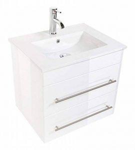Emotion Meuble salle de bain Milet blanc brillant de la marque Emotion image 0 produit