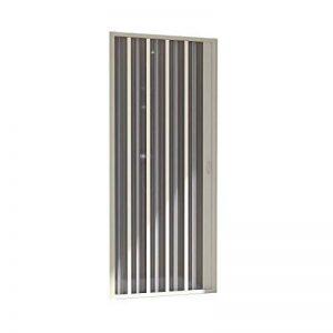 Forte BR120001Cabine de douche avec porte escamotable, réversible, blanc, 60 x 80 x 185 cm(h) de la marque Forte image 0 produit