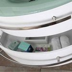 GRAFICA MA.RO SRL Meuble Salle de Bain Modèle Ambassador 120 cm Blanc Colonne Vasque Robinett. Ensemble Robinetterie Inclus de la marque GRAFICA MA.RO SRL image 3 produit