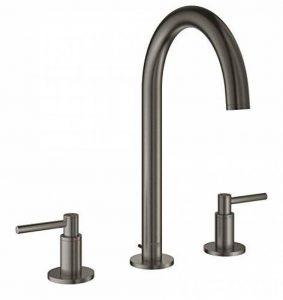 Grohe 20009AL3Atrio Mitigeur–Robinet de baignoire à 3trous pour lavabo, DN 15, Hard Graphite brossé de la marque GROHE image 0 produit