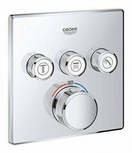 GROHE 29126000 Grohtherm SmartControl Thermostatique pour installation encastrée 3 sorties, Chrome de la marque GROHE image 0 produit