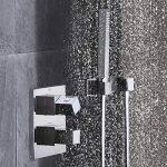 GROHE 34506000 Grohtherm Kit de Douche Encastré Cube 230 (Import Allemagne) de la marque GROHE image 3 produit