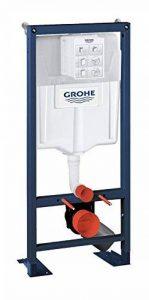 GROHE - 38340001 - Bâti-Support pour WC Suspendu - Mur Porteur ou Non-Porteur - Rapid SL (Import Allemagne) de la marque GROHE image 0 produit