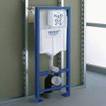 GROHE - 38340001 - Bâti-Support pour WC Suspendu - Mur Porteur ou Non-Porteur - Rapid SL (Import Allemagne) de la marque GROHE image 2 produit