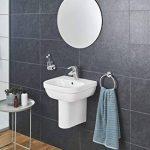 GROHE Mitigeur de Lavabo avec Garniture de Vidage Bec Normal Eurosmart 33265002 (Import Allemagne) de la marque GROHE image 4 produit