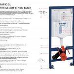 GROHE Structure/Bâti-Support pour WC Suspendu Mur Porteur Ou Non-Porteur Rapid SL 38587000 (Import Allemagne) de la marque GROHE image 3 produit