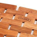 Hankey de luxe en bambou Tapis de bain, DE SALLE DE BAIN Douche Spa sauna Tapis de grande, Bambou, bambou, 23.6 x 16 x 0.2 inches ( 60 x 40 x 0.5 cm) de la marque Hankey image 3 produit