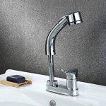 Hansdmoena Type Traction Double vasque lavabo bassin trou robinet télescopique de levage,robinet d'entrée d'envoyer 100 cm de la marque HansdMoena image 1 produit