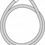 Hansgrohe Flexible de Douche Anti-Pliure et Anti-Torsion Isiflex 1,60m Aspect Métal 28276000 de la marque Hansgrohe image 2 produit