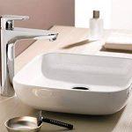 Hansgrohe Mitigeur de Lavabo Design à Bec Haut Ecos XL Chrome 14083000 de la marque Hansgrohe image 4 produit