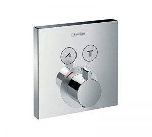 hansgrohe Mitigeur thermostatique ShowerSelect pour 2 sorties, chrome 15763000 de la marque Hansgrohe image 0 produit