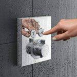 hansgrohe Mitigeur thermostatique ShowerSelect pour 2 sorties, chrome 15763000 de la marque Hansgrohe image 3 produit