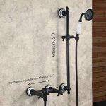 Hiendure® Mitigeur de baignoire Traditionnelle huilé Bronze Terminer Deux poignées Robinet de baignoire de la marque Hiendure image 3 produit