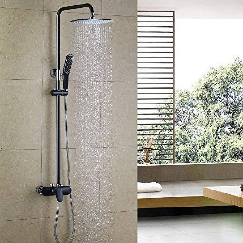 grand pommeau de douche comment trouver les meilleurs. Black Bedroom Furniture Sets. Home Design Ideas