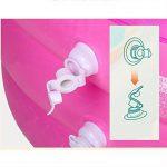 HTZ Baignoire Gonflable Baignoire Pliante pour Adulte Baignoire Baignoire pour Enfants (Rose, 150cm * 80cm * 70cm) + (Taille : 130x80x70) de la marque Bathtub PHTW image 4 produit