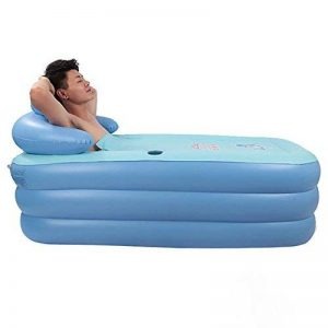 HTZ Baignoire Gonflable Baignoire Pliante pour Adulte Baignoire pour Enfants Bathe Barrel (Bleu, 160cm * 84cm * 64cm) + de la marque Bathtub PHTW image 0 produit
