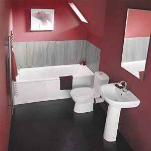 Hudson Reed - Ensemble Baignoire, Lavabo et Toilette WC Contemporain de la marque Hudson Reed image 0 produit