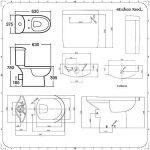 Hudson Reed - Pack WC - Design Moderne de la marque Hudson Reed image 3 produit