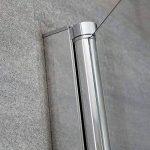 Hudson Reed - Pare-Baignoire Verre Transparent Sécurité Traité Anti-Calcaire 140x25cm Portland de la marque Hudson Reed image 3 produit