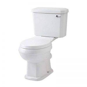 Hudson Reed - Toilette WC Rétro - Design Traditionnel - Céramique Blanche de la marque Hudson Reed image 0 produit