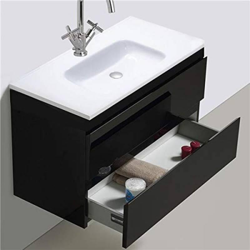 LHbox Lavabo Vasque Mitigeur Robinet Bassin Chaud et Froid ...