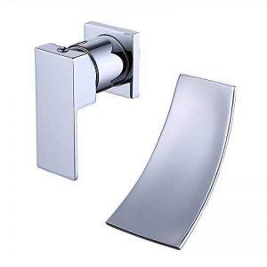 Kes L3200-P Robinet mitigeur cascade mural en acier inoxydable pour salle de bain Fixation, argent de la marque Kes image 0 produit