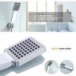 KINSE Design Salle de bains monté mur de robinet de baignoire cascade avec douche à main de la marque KINSE image 2 produit
