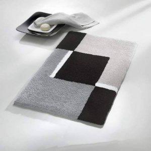 Kleine Wolke 4598977225 Dakota Tapis de Bain Polyacrylique Platine 70 x 120 cm de la marque Kleine Wolke image 0 produit