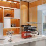 KuanGuang deux étages Sous évier Panier coulissant stockage armoires de cuisine Organisateur, Chrome de la marque KuanGuang image 3 produit