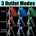 Magic automatique 7 couleurs LED Pommeau de douche lumineuse de l'eau de la marque Big Bargain image 1 produit