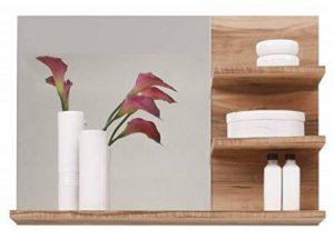 Maisonnerie 1259-401-60 Cancun Miroir Meuble de Salle de Bain Noyer Finition Satinée LxHxP 72 x 57 x 20 cm de la marque Maisonnerie image 0 produit