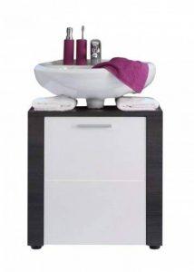 Maisonnerie 1312-301-10 Xpress Meuble sous lavabo Frêne Multicolore (Gris/Blanc) LxHxP 70 x 57 x 35 cm de la marque Maisonnerie image 0 produit
