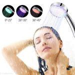 Merkmak Pomme de douche 7 Couleurs LED Changement de Lumière Romantique Salle de Bain Tête de Douche Douchette de la marque Merkmak image 2 produit