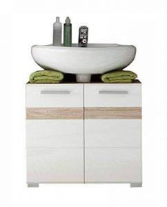 meuble lavabo blanc laque TOP 1 image 0 produit