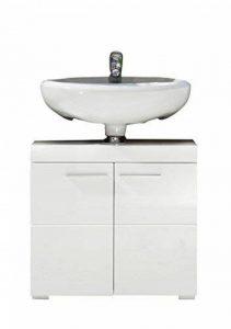 meuble lavabo blanc laque TOP 2 image 0 produit